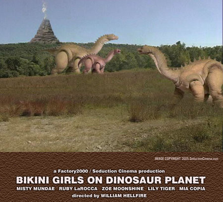 Which bikini girls on dinosaur planet 2005