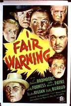 Fair Warning 2553