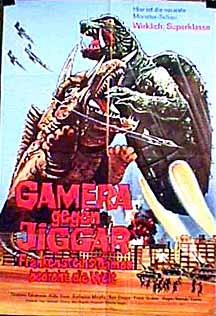Gamera tai Daimaju Jaiga movie