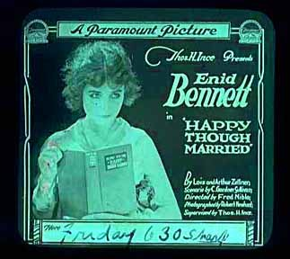 Happy Though Married 1918