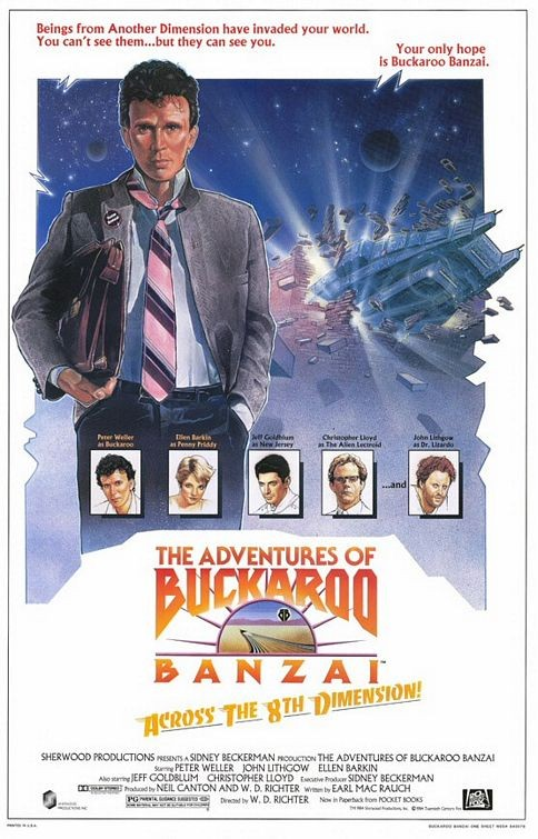 The Adventures of Buckaroo Banzai Across the 8th Dimension 143001
