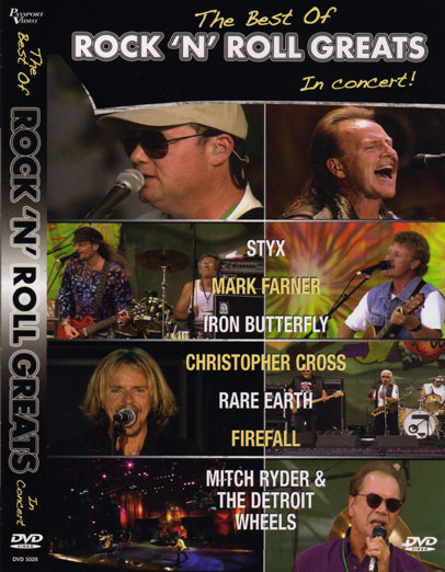 The Best of Rock 'n' Roll Greats in Concert 121961