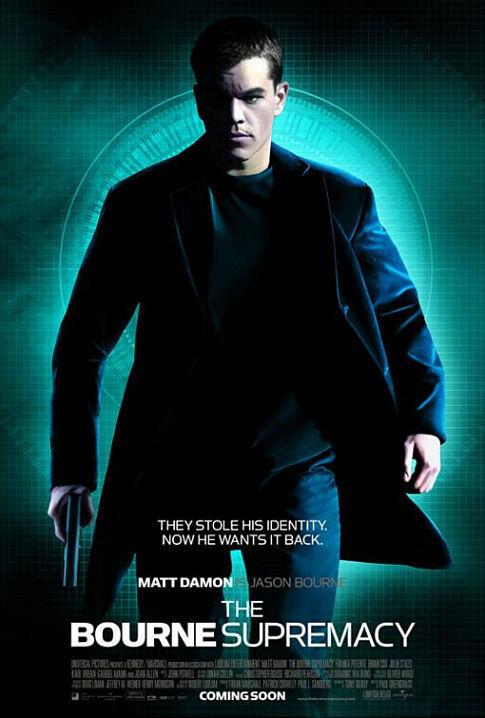 The Bourne Supremacy 95389