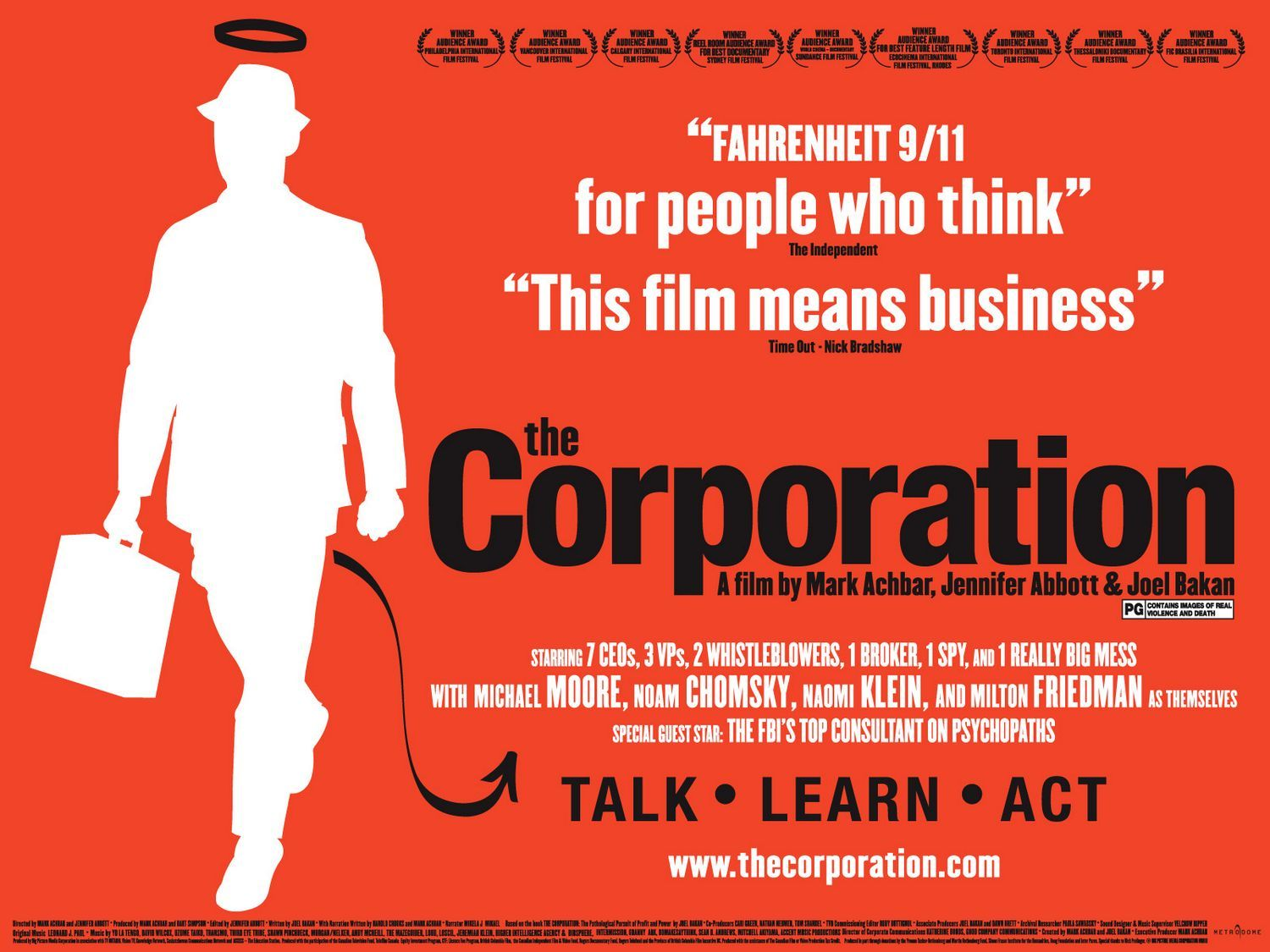 the corporation by mark achbar essay